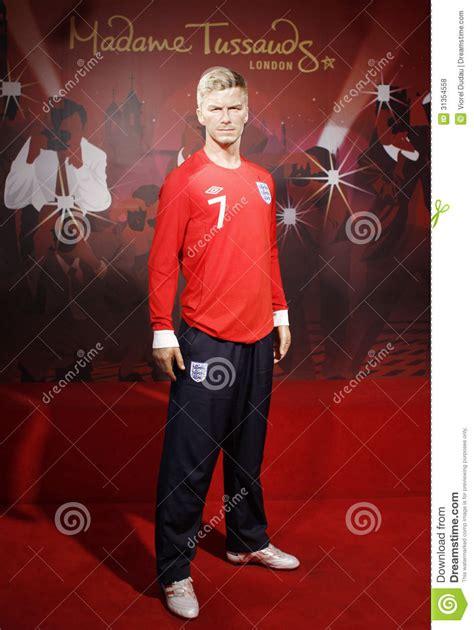 Beckham Is A Wax Figure No Kidding by David Beckham Editorial Stock Photo Image 31354558