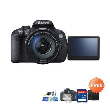 Kamera Canon 700d Indonesia jual canon eos 700d kit 18 55mm f 3 5 5 6 is stm kamera