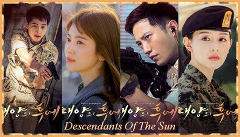film korea descendants of the sun descendants of the sun korean drama review