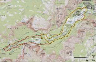 loop trail map yosemite valley loop trail yosemite national park u s