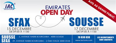 emirates open day jakarta our articles iac international airlines crew