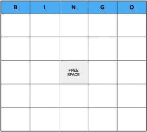 blank bingo card template word bingo blank template casa larrate
