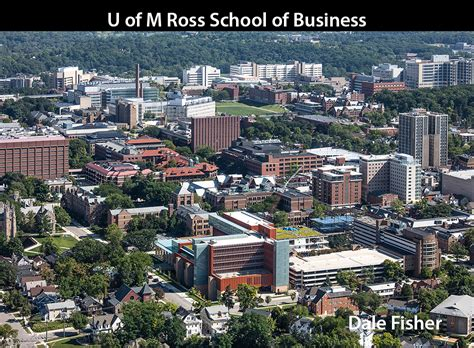 Univ Of Michigan Mba Review by Of Michigan Ross School Of Business Dale