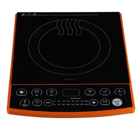 induction cooking tops india buy havells insta cook et x induction cooktop at low price in india