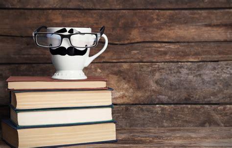 wallpaper coffee and books wallpaper cup mug glasses books coffee funny cute