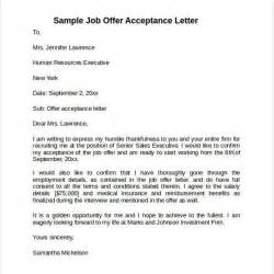Offer Letter For In India Offer Acceptance Letter Sle India Cover Letter Templates
