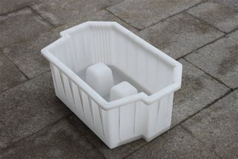white mold on concrete wall plastic concrete retaining wall block molds lcmolds
