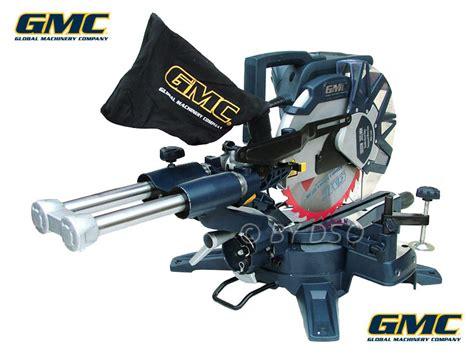 gmc double bevel slide compound mitre saw 305mm 1800w - Afkortzaag Gmc