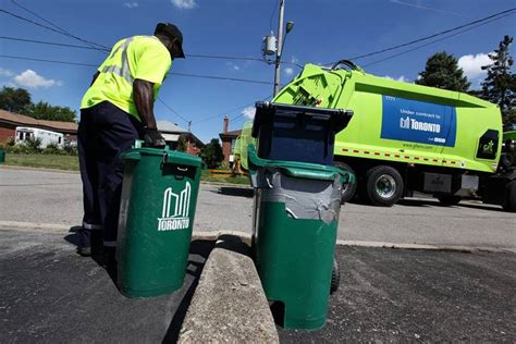 garbage collector removed from route after shows him