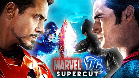 film marvel dan dc marvel vs dc trailer the avengers justice league collide