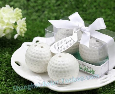 Golf Club Giveaway - 300box golf club party golf ball salt and pepper shaker giveaways gifts tc030 from