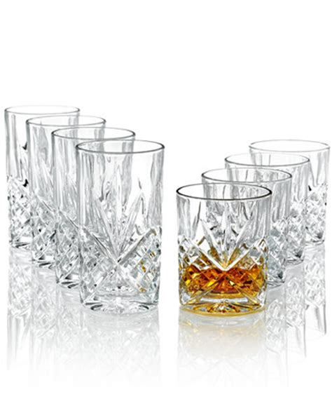 Godinger Barware godinger barware dublin fashioned and highball glasses set of 8 all glassware