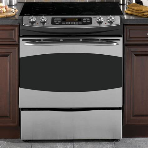 Oven Cooktop - ge profile series ps905spss profile series 30 quot slide in