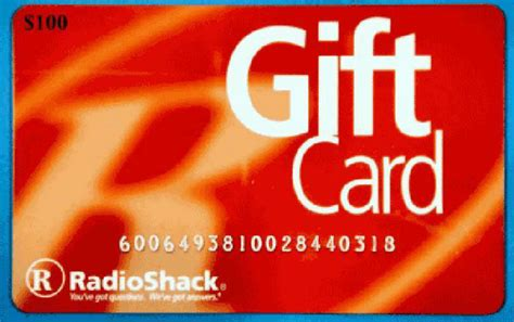 Radioshack Gift Card - deadline for redeeming radioshack gift cards draws closer
