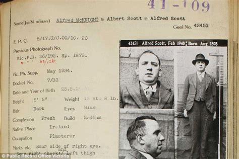 Nj Arrest Records Records Australia S 1930s Criminal Records Reveals Weren T
