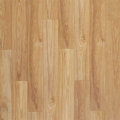 Hardwood Laminate Flooring Shop Allen Roth 5 98 In W X 3 95 Ft L Golden Butterscotch Embossed Wood Plank Laminate