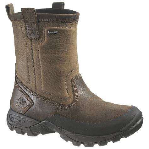 waterproof boots for merrell 174 bergenz waterproof boots 211895 winter snow