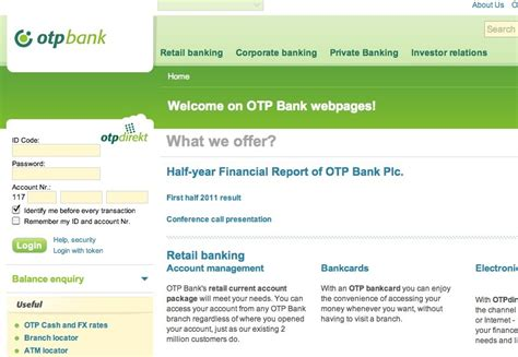 otp bank netbank a student s guide to budapest opening a bank account