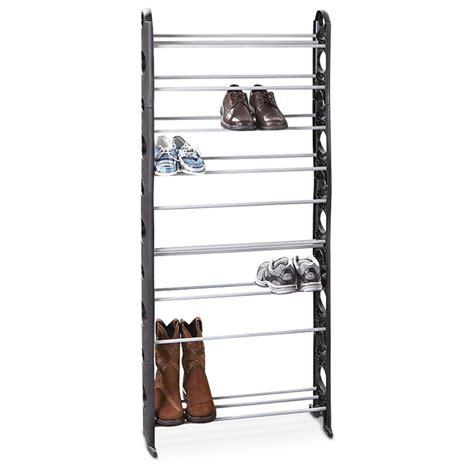 30 pair shoe 30 pair shoe rack 283205 housekeeping storage at