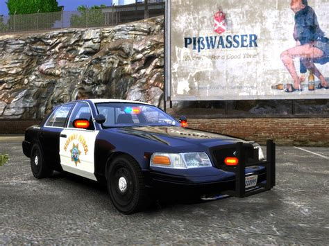 chp code chp crown vic in code 3 park mode gta iv galleries