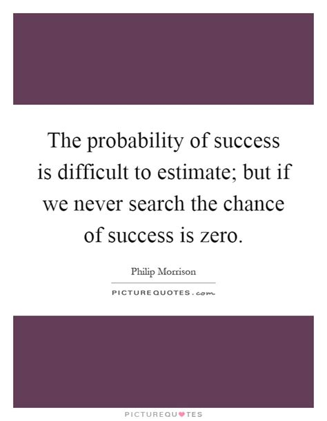 What Are The Odds Of Your Success by Probability Quotes Sayings Probability Picture Quotes
