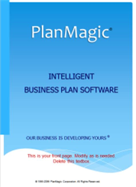 bed and breakfast business plan template retail business plan planmagic