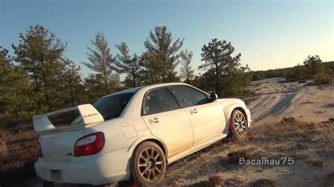 Off Roading The Subaru Impreza Sti In A Desert Youtube