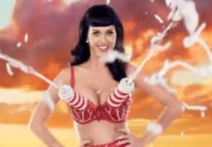 21 strangest things katy perry has put on her boobs smosh