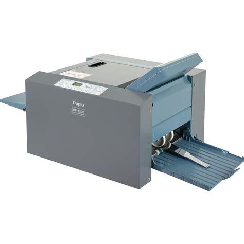 Desktop Paper Folding Machine - desktop duplo df 1200 a3 suction fed paper folding machine