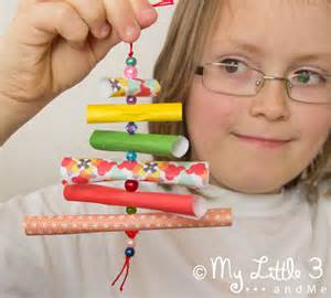 decorations for children to make ornaments paper bead trees my