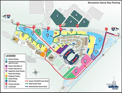 gillette stadium floor plan gillette stadium floor plan parking new england revolution