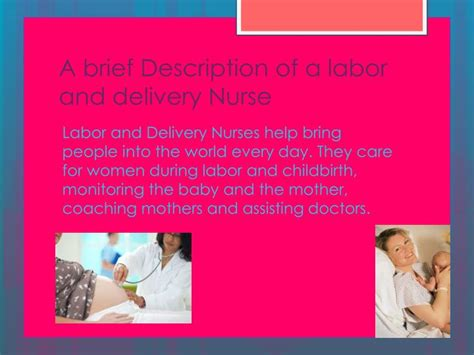 Description Of Labor And Delivery by Ppt Labor And Delivery Powerpoint Presentation Id 2632157