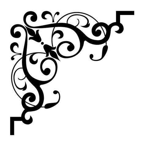 pattern frame corner free printable moroccan stencil patterns stencil corner