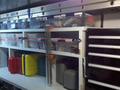 enclosed cargo trailer shelving ideas car interior design