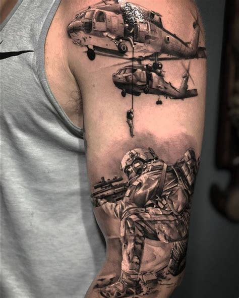 army sleeve tattoo 41 kickass army tattoos to show your pride