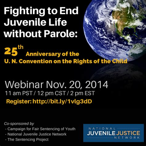 Juvenile Without Parole Essay by Fighting Juvenile Without Parole U N Convention On The Rights Of The Child