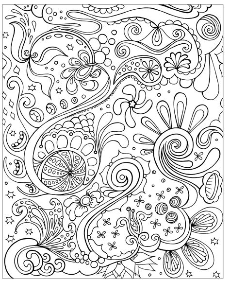 abstract coloring pages hard free difficult coloring pages for adults