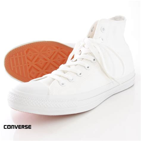 Converse High Ct White converse all white high cut studio 103 co uk