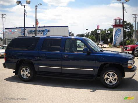chevrolet suburban 2003 2003 indigo blue metallic chevrolet suburban 1500 lt 4x4
