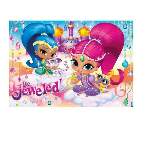 Shimmer And Shine My Puzzle Book nickelodeon shimmer shine puzzle 104 jigsaw clementoni from craftyarts co uk uk
