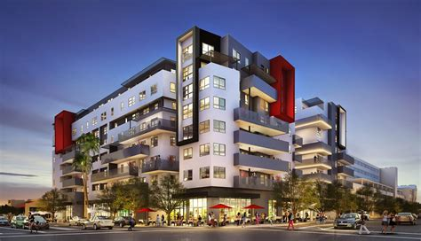 Miami Condo Floor Plans new six story culver city palms mixed use nnn triple net