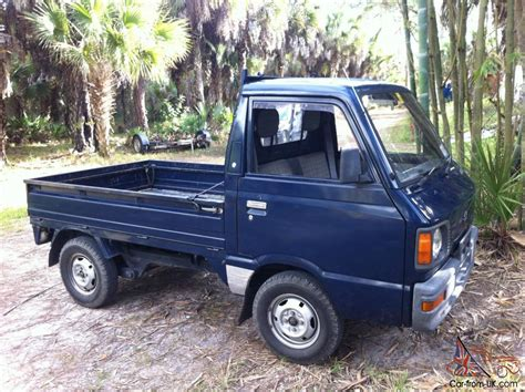 subaru mini truck lifted 1987 subaru sambar mini truck 4x4 kei japanese up truck