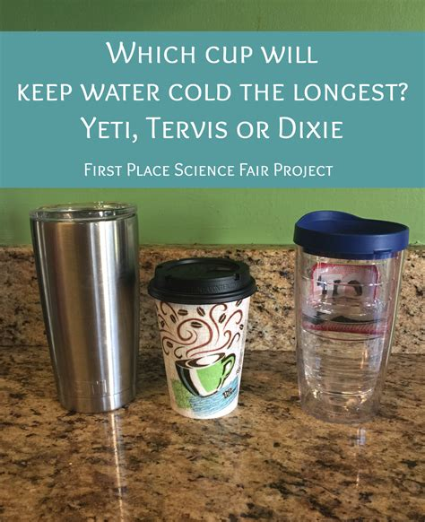 which cup will keep water cold the yeti tervis