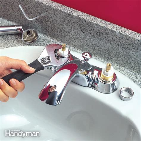 bathroom faucet washer replacement