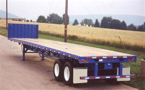 flat bed trailers steel flatbed trailers chassisking com