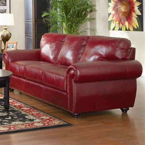 maroon leather sofa 2018 burgundy leather sofa sets