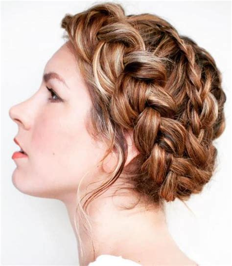 crown braid short hair hairstyles 60 crown braid hairstyles for summer tutorials and ideas