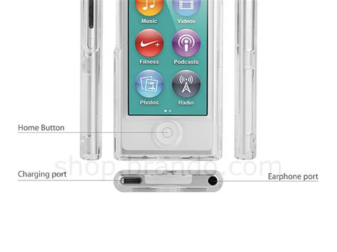 Softcase Cover Iphone 7g 7g ipod nano 7g