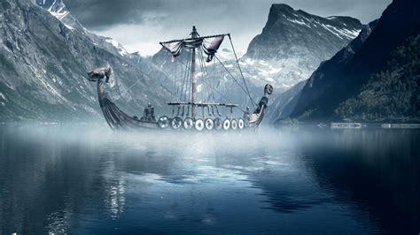 wallpaper 3d viking wallpapers for desktop viking ships wallpapersafari