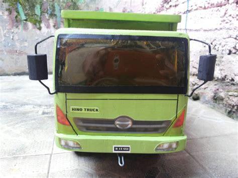 Kado Mainan Anak Mobil Truck Konstruksi Rc Truck Power jual mobilan kayu diecast mobil truk hino mainan anak miniatur hino truck mini market bola